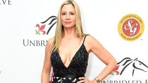 Mira Sorvino attends the Unbridled Eve Gala during the 144th Kentucky Derby.(AFP)