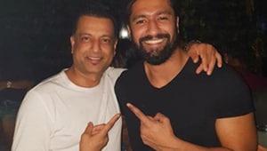 Vicky Kaushal and Paresh Ghelani met while filming Sanju.