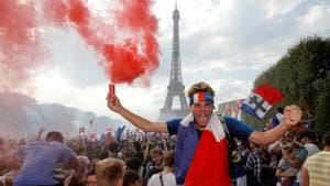 Mayhem in Paris after France beat Croatia to win FIFA World Cup