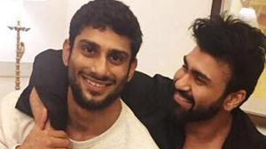 Aarya Babbar says his brother actor Prateik Babbar is a brilliant actor.