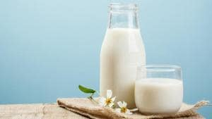 UP is the only state where the milk cooperative federation is buying milk from farmers at a high rate of Rs 32 to Rs 38 per litre, selling it in the market at Rs 52 per litre.(Representative image/ Shutterstock)
