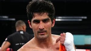 Vijender Singh may have his next Commonwealth super middleweight title fight in September.(Getty Images)