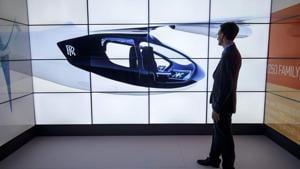 Rolls-Royce unveils plans of hybrid flying taxi at Farnborough