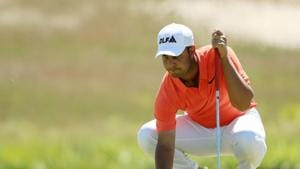 The British Open is one of Shubhankar's favourite Majors.(AFP)