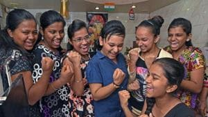 Karnataka Secondary Education Examination Board (KSEEB) declared its Secondary School Leaving Certificate (SSLC) supplementary exam 2018 result on its official result website on Thursday.(Pratham Gokhale/HT file)