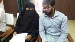 File photo of Nida Khan and her brother.