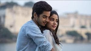 Ishaan Khatter and Janhvi Kapoor in a still from Dhadak.