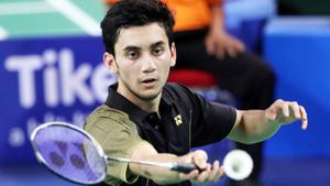 Lakshya Sen clinched the Badminton Asian Junior Championships title in Jakarta on Sunday.(Twitter)