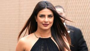Priyanka Chopra kept it cool in a crop top and jeans at the airport. (AP File Photo)