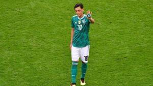 Mesut Ozil earned 92 caps for Germany scoring 23 goals.(AFP)