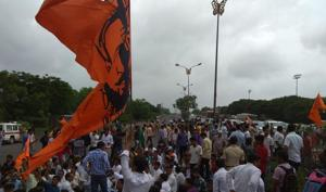 The Maratha protests in the state turned violent on Wednesday.(HT Photo)