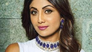 Shilpa Shetty Kundra proves blue is one of the hottest colours right now. (Instagram)