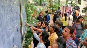 The third merit list will be declared at 11am on Tuesday.(HT File Photo)
