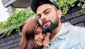 Anushka Sharma and Virat Kohli got married in 2017.(Twitter)