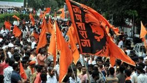 The Maratha community, which is roughly one-third of the state's population (32%) is out on streets demanding immediate solution as the 16% reservation granted to it by the government in 2014 is stuck in the court.(HT File)