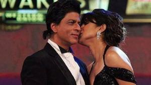 Shah Rukh Khan was asked about Priyanka Chopra's engagement on Tuesday.