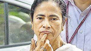 West Bengal chief minister Mamata Banerjee has been the Centre's fiercest critic over the updated Assam citizen list.(PTI)
