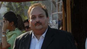 File photo of Mehul Choksi at Mahalaxmi Race Course in Mumbai.(HT Photo)