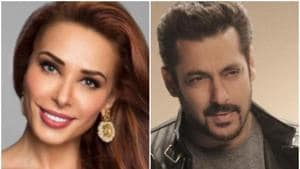 Salman Khan and Iulia Vantur are rumoured to be in a relationship.(HT Photo)