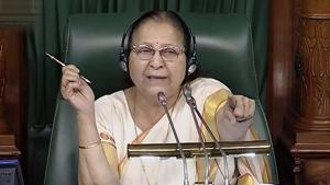 Speaker Sumitra Mahajan allowed Opposition MPs to raise the Muzaffarpur matter but underlined that there cannot be a discussion on the issue as the CBI is probing it.(PTI)