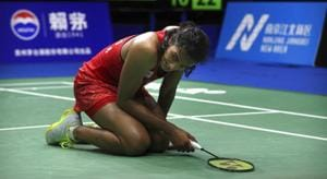 PV Sindhu will be India's biggest medal hope in badminton at the Asian Games 2018.(AP)