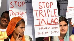 On Thursday, Union Cabinet approved amendments to the Triple talaq Bill making provision for bail to the accused.(PTI file photo)