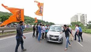 The Maratha agitation has put the government on tenterhooks.(Pratham Gokhale/HT Photo)