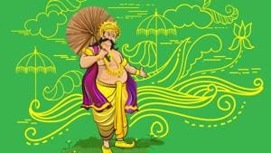 Onam is the festival for welcoming the demon king Mahabali. Though a demon, he was said to be kind hearted.(Shutterstock)