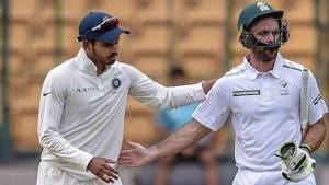 Starting the final day on 294 for 7, the Proteas added 25 runs losing the remaining three wickets to get all out for 319 in 98.2 overs.(PTI)