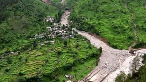 The national highway 107, connecting Rishikesh to Kedarnath, was blocked due to a landslide.(AFP/File Photo)