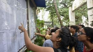 Students who are yet to get admission are hoping to find their names on the latest FYJC admission list(HT Photo)