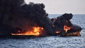 Two company officials reached by The Associated Press refused to say whether that meant the sailors were dead, though the firm separately acknowledged one sailor was injured and hospitalised in Muscat, Oman.(AFP/Picture for representation)
