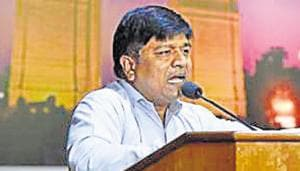 State minister Rajendra Pal Gautam directed officials to provide all items of need according to norms set by the department and said any irregularity would be viewed seriously.(Saumya Khandelwal/HT File)