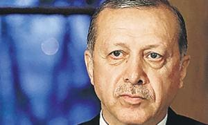Turkey's President Recep Tayyip Erdogan. Turkey's crisis starkly demonstrates, even the most deeply held of misbegotten beliefs eventually run up against reality(AP)