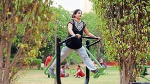 The MCG's move to build open air gyms across the city received a positive feedback from residents.(HT File Photo)