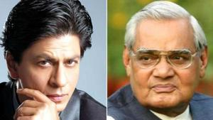 Shah Rukh Khan penned an emotional tribute for former PM Atal Bihari Vajpayee.