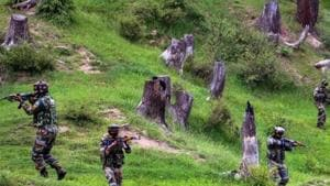 The Army stepped up operations in Hajin, which has lately become a hotbed of militancy.(PTI File)