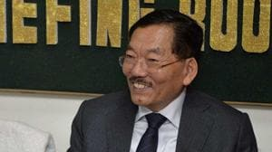 Pawan Chamling became the chief minister of Sikkim on December 12, 1994, and has ruled the tiny Himalayan state ever since.(AFP Photo)