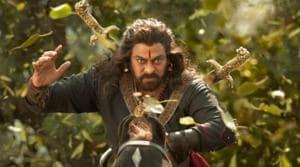 Chiranjeevi plays legendary freedom fighter Uyyalawada Narasimha Reddy who fought the British.