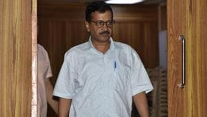 Delhi chief minister Arvind Kejriwal warned he would take disciplinary action against the state food commissioner.(Sonu Mehta/HT Photo)