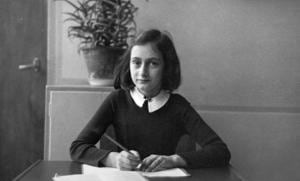 'When people think about the Netherlands, they think tulips, canals and cheese. But they also think of the story of Anne Frank [above]. It's important to us that we highlight the story of that little girl to as many people as possible,' says Guido Tielman, consul general for the Netherlands.