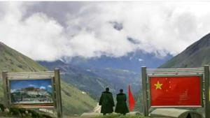 Troops of India and China were locked in a 73-day stand-off in Doklam in the Sikkim sector from June 16 last year, after the Indian side stopped construction of a road in the disputed tri-junction by the Chinese Army. Bhutan and China have a dispute over Doklam.(AP File Photo)