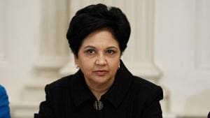 Indra Nooyi will be honoured with the Game Changer of the Year award by a global cultural organisation in recognition of her business achievements, humanitarian record and advocacy for women and girls around the world.(AP File Photo)
