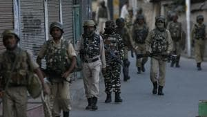 Authorities on Monday imposed a shutdown on Srinagar and some other parts of the Kashmir Valley following rumours that the Supreme Court has scrapped Article 35A, police said.(AP File Photo)