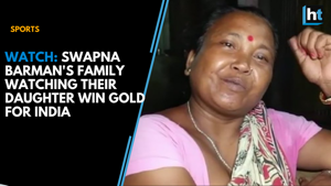 Watch: Swapna Barman's family in tears while watching her win gold for ...