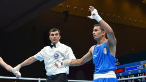 Asian Games 2018: Boxer Amit Panghal in men's light flyweight final