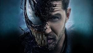 Tom Hardy stars as Eddie Brock in Venom.