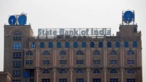 The State Bank of India (SBI) office building is pictured in Kolkata.(REUTERS File Photo)