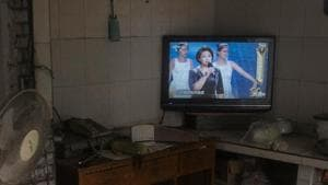 China's state broadcaster issued an apology on Sunday after parents complained that a compulsory television programme targeted at millions of school children was preceded by almost a quarter of an hour of non-stop advertising.(Representative Image/Reuters Photo)