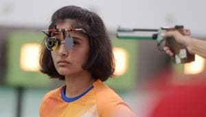 File Picture of Manu Bhaker(PTI)